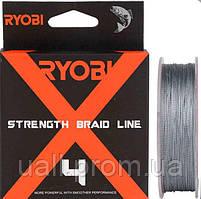 Шнур Ryobi Strength Braid 4X Gray 150м №0.4