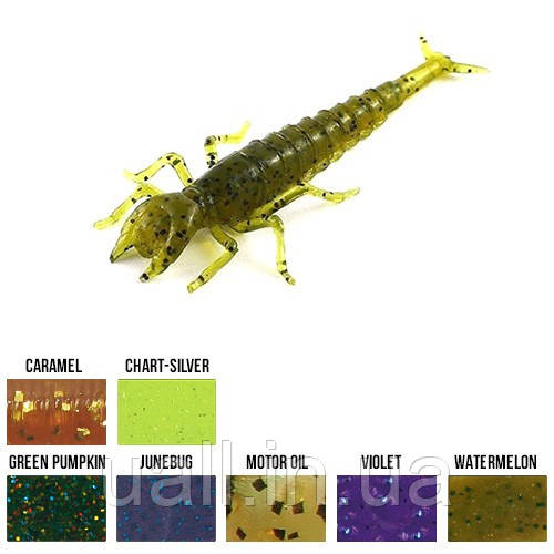 "Силікон Strike MICRO BAITS Diving Bug Dragonfly 2"" (watermelone)"