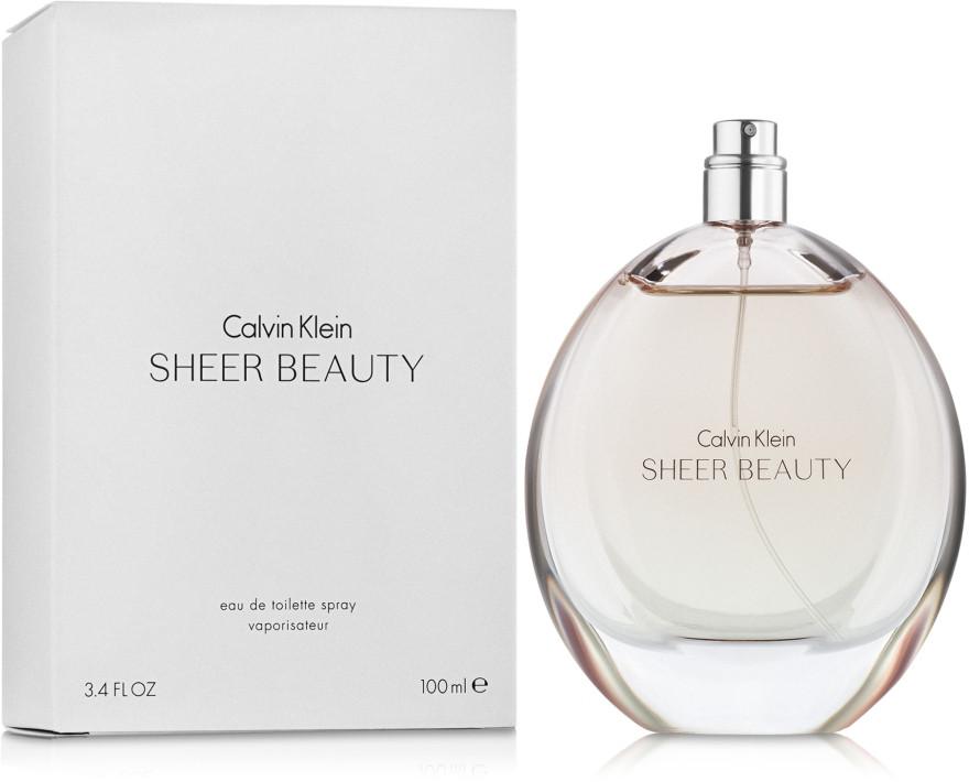Тестер жіночий Calvin Klein Sheer BEAUTY