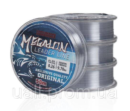 Волосінь Bratfishing Megalon 50m. 0.08mm.