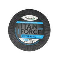 Волосінь Kalipso Titan Force Universal CL 1000м 0.35мм