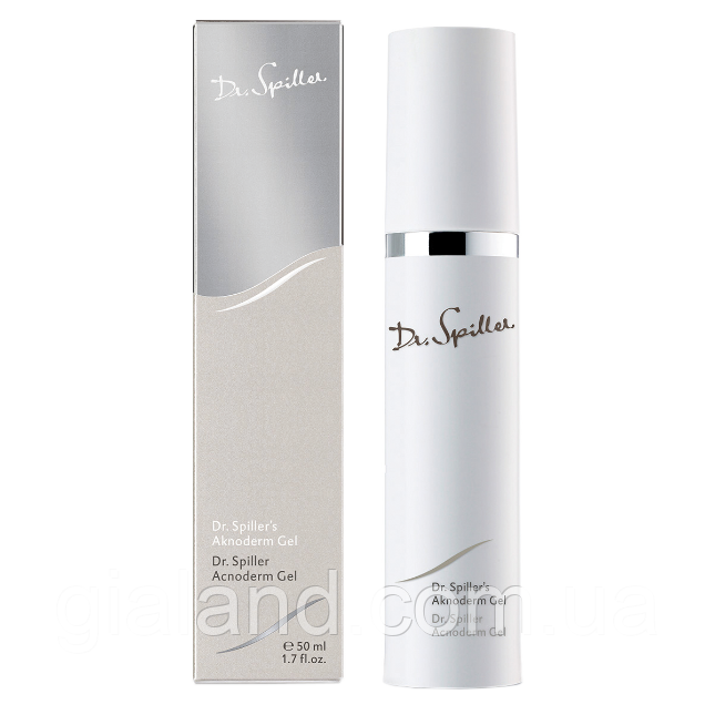 Увлажняющий гель для жирной кожи Dr. Spiller Acnoderm Gel