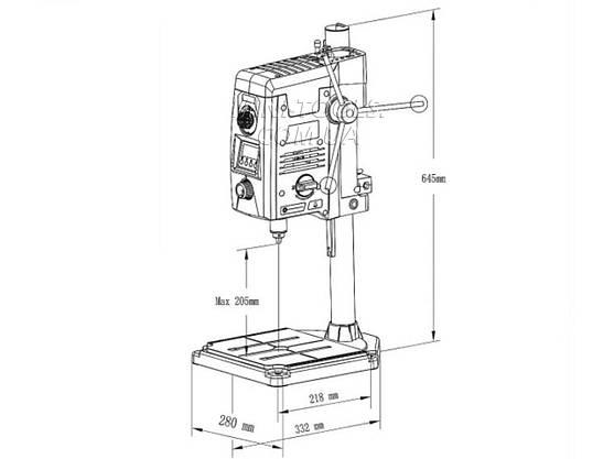 Сверлильный станок Beking BG-518801 (800W), фото 3