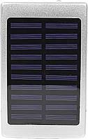 Power bank Solar PB-6 Silver 20000 mAh повер банк портативное зарядное устройство солнечная панель