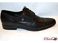 Туфли мужские Box&Co кожаные черные Box0009