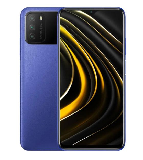 Xiaomi POCO M3 4/128Gb Cool Blue Global Version батарея 6000 мАч 3 камеры