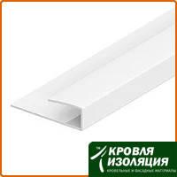 Пластиковая полоса стартовая белая (5мм*6м)