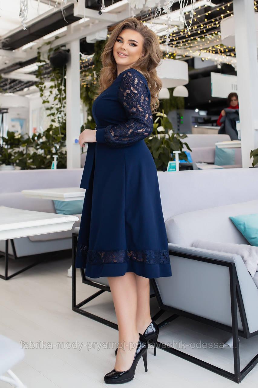 Женское платье Єлла  №3231 от48  до 58 размера