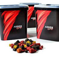 Пелець Adder Carp Pellet Corn&Hemp mix 3 kg відро (4-8-12mm) (Кукурудза Конопля)
