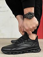 Мужские черные кроссовки Wave