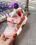 Кросівки дитячі на дівчинку Tom.M 7979H. 21-26 розміри., фото 2