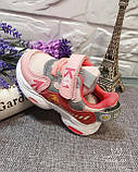 Кросівки дитячі на дівчинку Tom.M 7979H. 21-26 розміри., фото 3