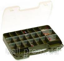 Коробка Aquatech 2х-стороння 14-46 відсіків (для воблерів і т.д.) 2546