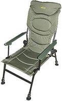 Крісло GC Коропове з дерев.підлокотниками в чохлі