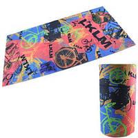 Бафф бандана-трансформер, шарф из микрофибры, вело3