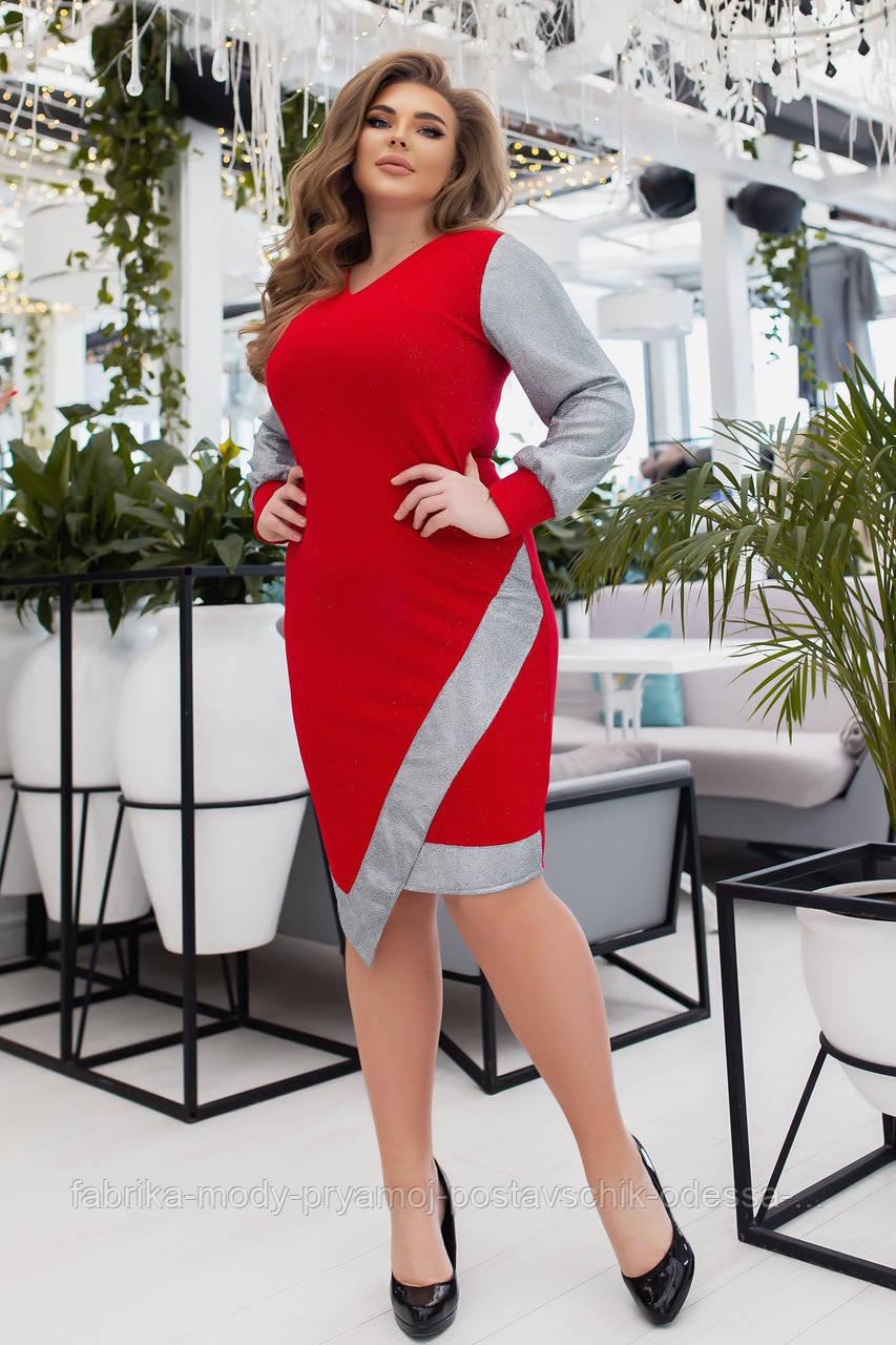 Женское платье Єлла  №3236 от48  до 58 размера