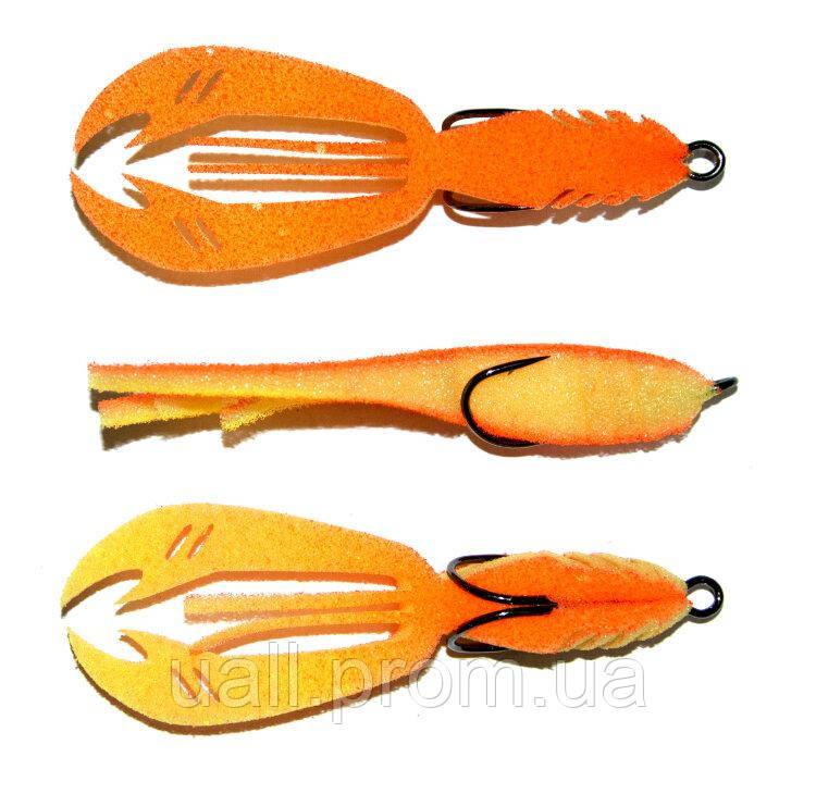 Приманка Проф Монтаж паралонова Рачок 205 Crayfish 4 (2шт.)