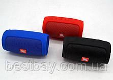 Портативная блютуз колонка JBL Charge 3 MINI колонка с USB,SD,FM КРАСНАЯ, фото 3