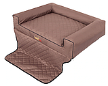 Матрас-лежак в багажник L для песика 90х70 см, фото 3