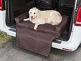 Матрас-лежак в багажник L для песика 90х70 см, фото 4