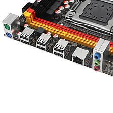 Материнская плата  X79 LGA 2011 support Xeon E5 LGA2011 processor DDR3 ECC RAM memory M.2 NVME, фото 3