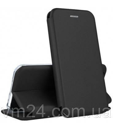 Кожаный чехол-книжка  Xiaomi Redmi  9S\9pro Черный