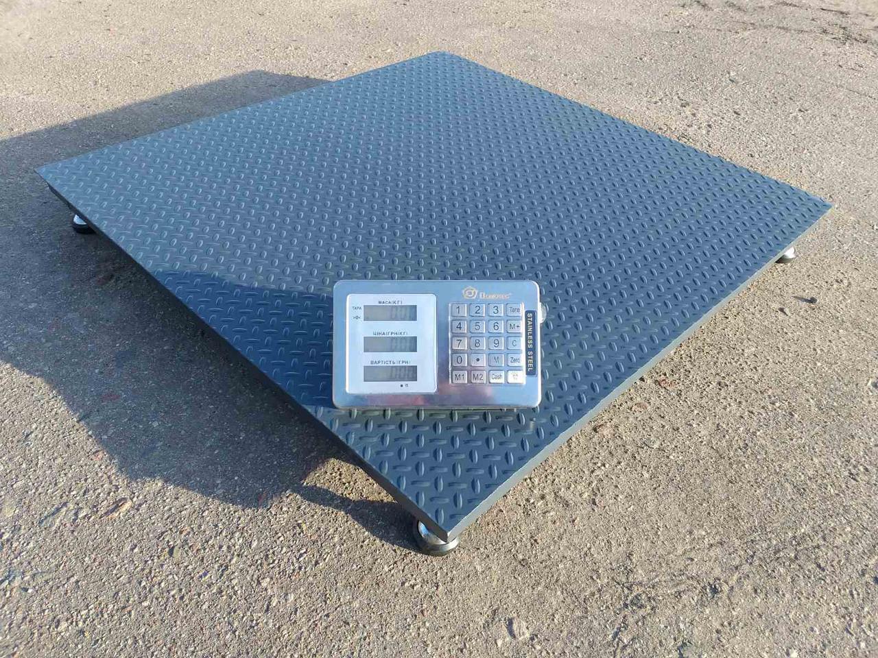 Платформенные весы серия «Бюджет» 1250×1250 мм