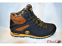 Ботинки мужские зимние Timberland кожаные желтая подошва T0007