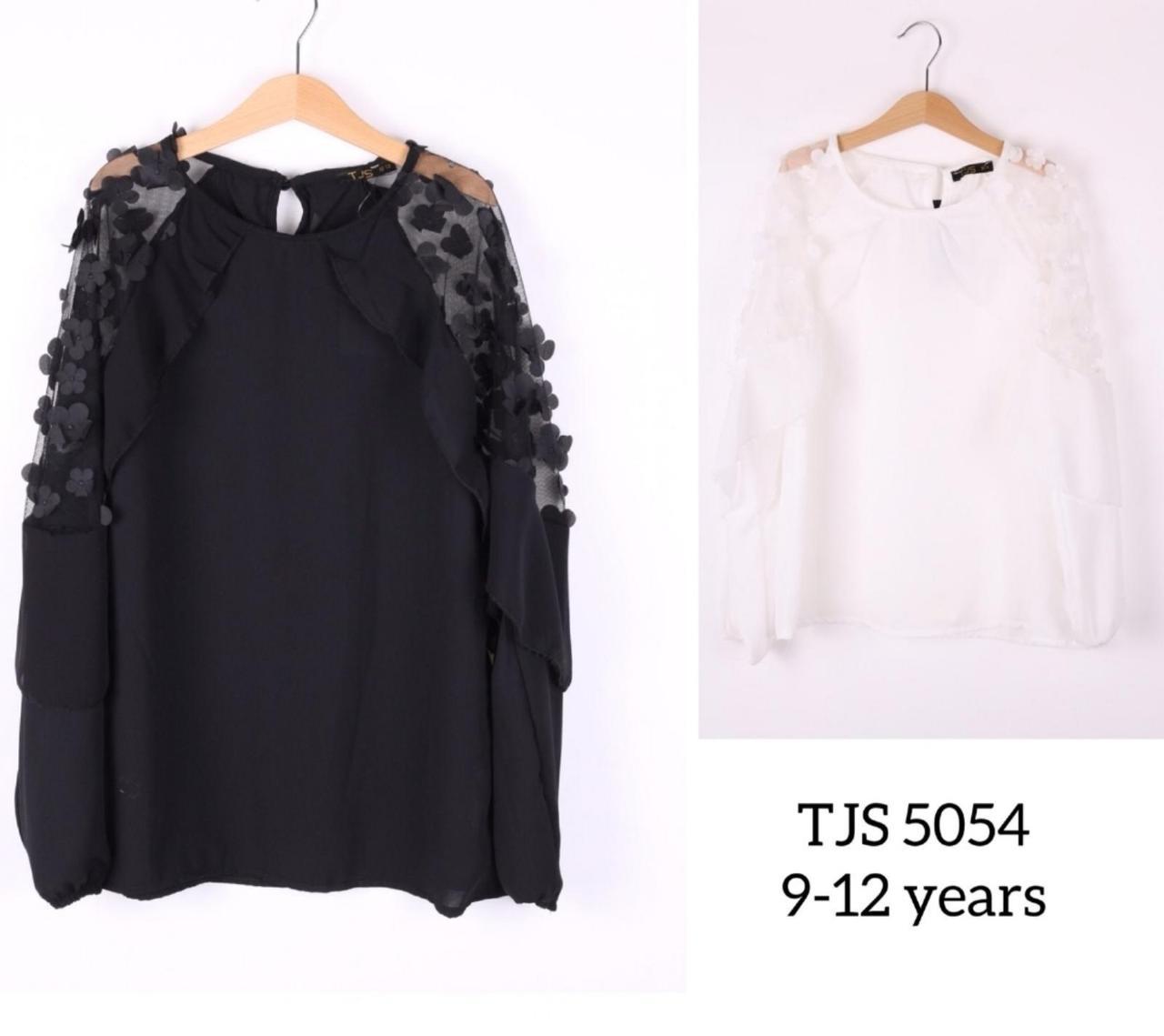 Блуза подростковая для девочек нарядная 5054