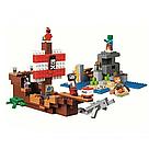 "Конструктор майнкрафт BELA Minecraft ""Приключения на пиратском корабле"" 404 детали , фото 3"