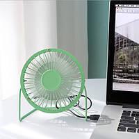 Настольный USB мини вентилятор (мятный)