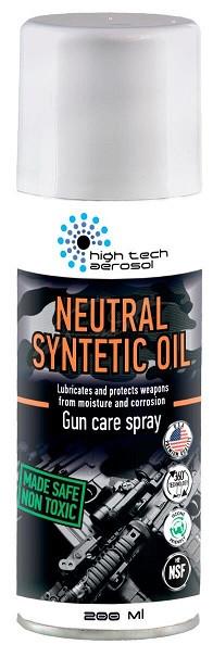 "Масло оружейное HTA ""Neutral Synthetic Oil"" (200 мл) спрей"