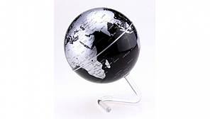 Глобус вращающийся на прозрачной подставке