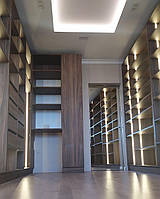Гардеробная комната с подсветкой на заказ Хит продаж новинка, фото 1