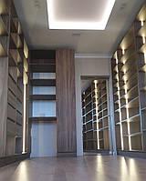 Гардеробная комната с подсветкой на заказ Хит продаж новинка