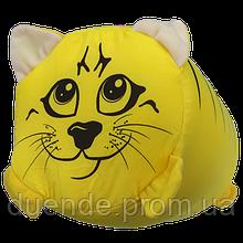 Подушка валик детская Зоо антистрессовая, полистерольные шарики, размер 38*18 см / tp - 12асв03ив
