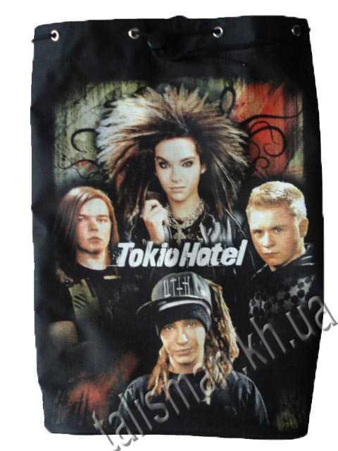 TOKIO HOTEL группа - рок-рюкзак