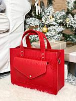 Идеи новогодних подарков – итальянская кожаная сумочка!