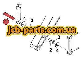 Палец крепления тяги ковша к рукояти KBV0733 для JCB JS260