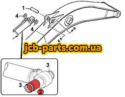 Втулка в основание г/цилиндра рукояти 903/21057 для JCB JS330