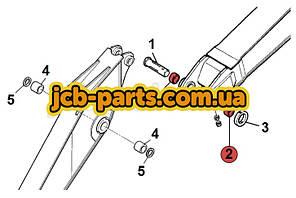 Втулка в ушко стрелы JBV0569 для JCB JS260