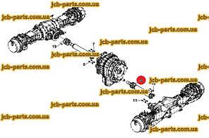Кардан передний в сборе F10/12327 для HIDROMEK 102S