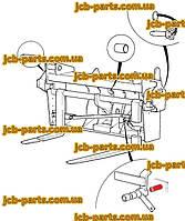Палець механізму бистрос'ема 811/90265 для навантажувача JCB 540-140