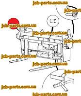 Верхній палець каретки 811/50487 для навантажувача JCB 540-140