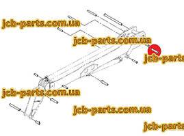 Палець в основу г / циліндра висунення третього коліна 811/50126 для навантажувача JCB 540-140