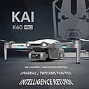Квадрокоптер K60 Pro GPS камера 4К 5G дистанция  1км полет 23 мин, фото 4