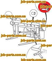 Палець фіксації каретки 545/13600 для навантажувача JCB 540-140