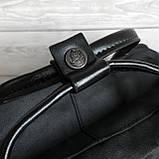 Молодежный женский рюкзак сумка канкен 16 литров Fjallraven Kanken No.2 черный с черными ручками, фото 6