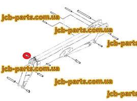 Палець в шток зовнішнього г / циліндра висунення стріли 811/70107 для навантажувача JCB 540-140