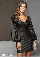 Платье кожаное, фото 1